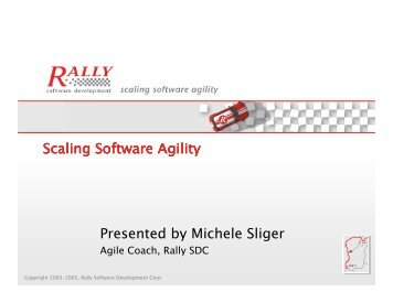 5 Levels of Agile Planning: From Enterprise Product ... - Rally ...