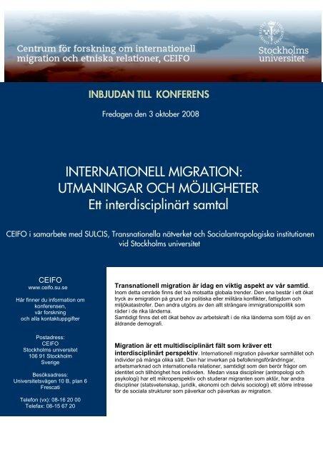 Läs hela programmet - Tema asyl & integration