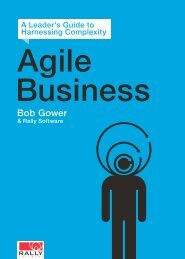 Steering the Agile Enterprise with Kanban Thinking ... - Rally Software