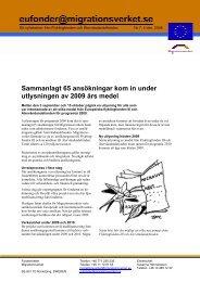 Läs brevet - Tema asyl & integration