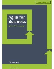 Agile for Business Book.pdf - Rally Software