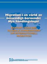 Migration i en värld av ömsesidigt beroende: Nya handlingslinjer
