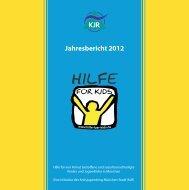 Jahresbericht 2012 - Kreisjugendring München-Stadt