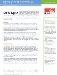Scaling Software Agility - Rally Software