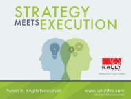 Aligning Strategy with Execution - Todd Olson ... - Rally Software