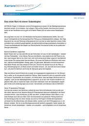 Das erste Mal mit einem Gabelstapler - Deutsche Edelstahlwerke ...