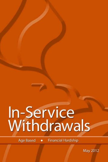 Withdrawing Your TSP Account After Federal Service (TSPBK02)