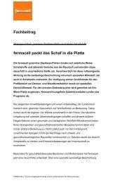 fermacell packt das Schaf in die Platte - ausbau-schlau.de