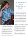 An Interview with Joan Sutherland, Roshi - Awakened Life - Page 3