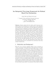 An Integrated Two-stage Framework for Robust Head Pose Estimation