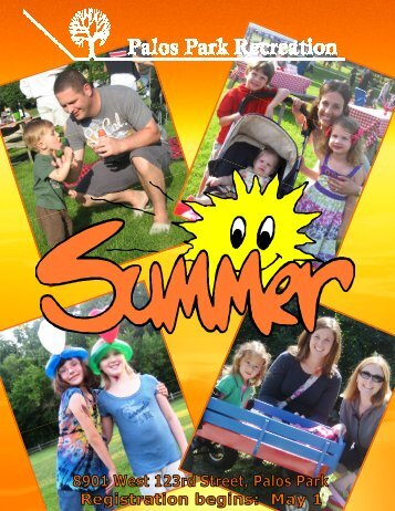 Summer Brochure- complete - Village of Palos Park, Illinois
