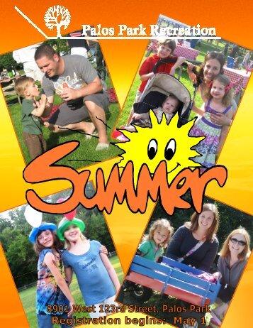 Summer Brochure- complete - Village of Palos Park, Illinois