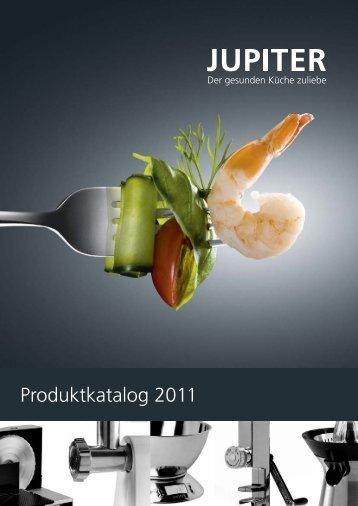 Jupiter Gesamtkatalog 2011 - Getreidemühle - Getreidemühlen