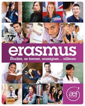 ERASMUS: étudier, se former, enseigner...ailleurs - AEF Europe