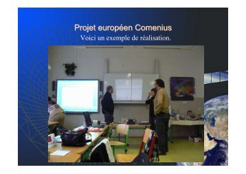 Projet européen Comenius - AEF Europe