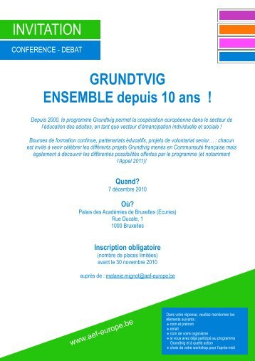 INVIT GRUV3.pdf - AEF Europe