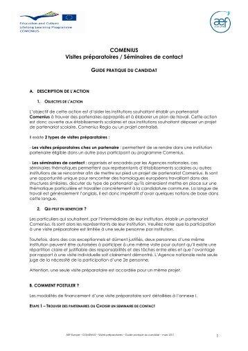 Guide VP 2011 - AEF Europe