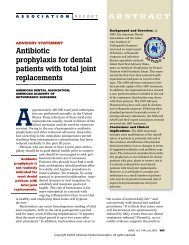 Antibiotic Prophylaxis for dental patients with total ... - Laneykay.com