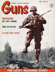 GUNS Magazine June 1960 - Jeffersonian