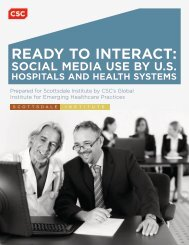 READY TO INTERACT: - Scottsdale Institute