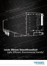 Leicht. Effizient. Umweltfreundlich! - TTT The Team Technology GmbH