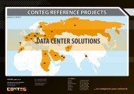 DATA CENTER SOLUTIONS - Conteg.fr
