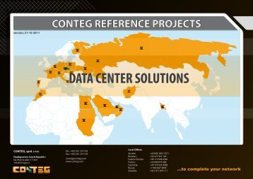 DATA CENTER SOLUTIONS - Conteg.fr