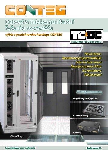 Datová & Telekomunikační řešení a rozvaděče - Conteg.fr