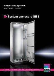 System enclosure SE 8 - Rittal