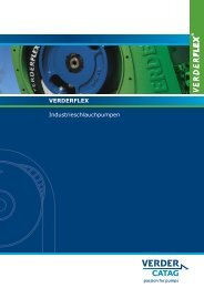 VERDERFLEX Industrieschlauchpumpen - Verder CH