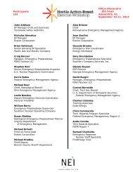 Participants List - Nuclear Energy Institute