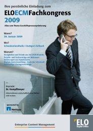 ELOECMFachkongress 2009 - OMNI PC Systemintegration GmbH
