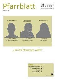Pfarrblatt Ostern 2011 (PDF-Datei - 1,19 MB) - pfarre wels st.josef