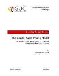 The Capital Asset Pricing Model - Faculty of Management Technology