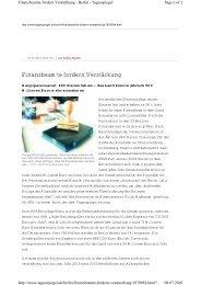 Finanzbeamte fordern Verstärkung - Vau-online.de