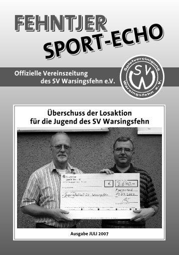 Leichtathletik-Abteilung - SV Warsingsfehn