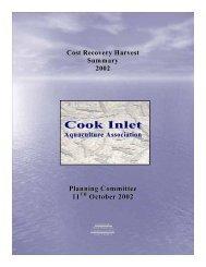 2002 - Cook Inlet Aquaculture Association, Kenai, Alaska