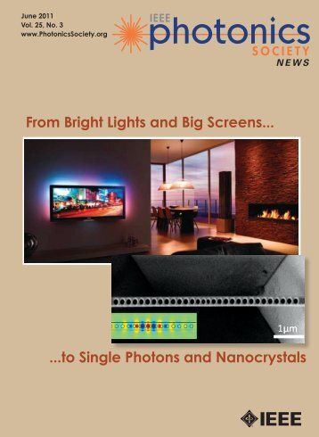 PDF of June Issue - IEEE Photonics Society