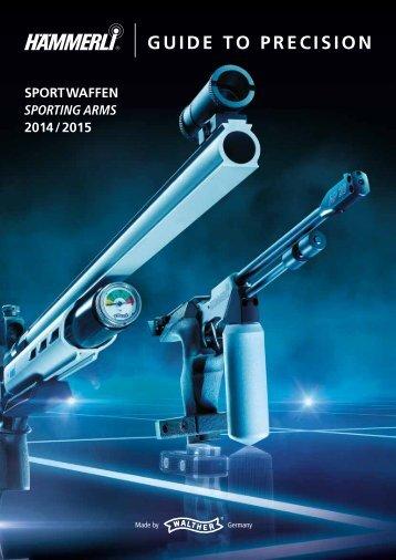 Hämmerli Sportwaffen 2014 / 2015