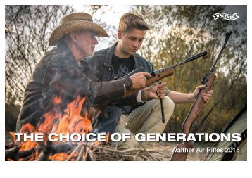 Walther Air Rifles 2015 / The Choice of Generations