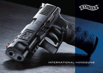 Walther Handgun Catalog 2015