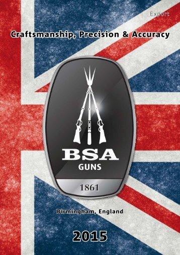 BSA Airguns 2015