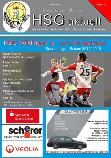 02/05/15 vs. HSG TVA/ATSV Saarbrücken