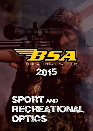 BSA OPTICS  Katalog 2015