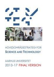 2013-17 final version - Science and Technology - Aarhus Universitet