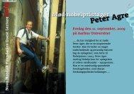 Peter Agre - Aarhus Universitet