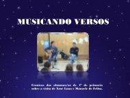 MUSICANDO VERSOS