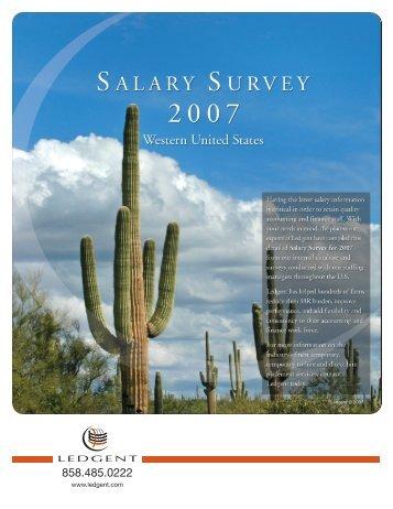 Salary Survey 2007 - Library