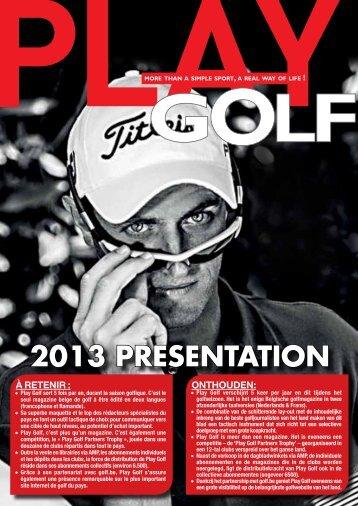 U kunt hier de brochure downloaden - Play Golf