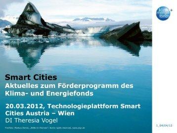 Aktuelles von den Smart Cities Aktivitäten des Klima